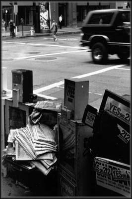 distributeurs de journaux humides