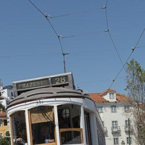 Lisbonne et son tramway