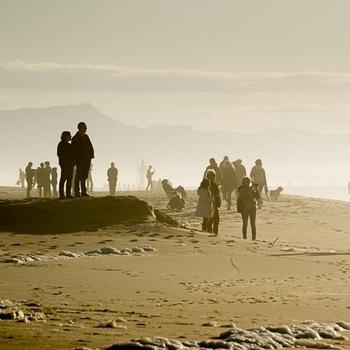 décembre sur la côte basque