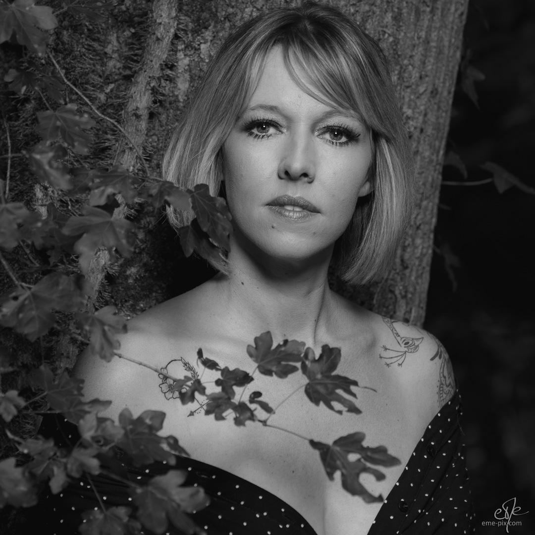 La forêt en automne avec Jessica